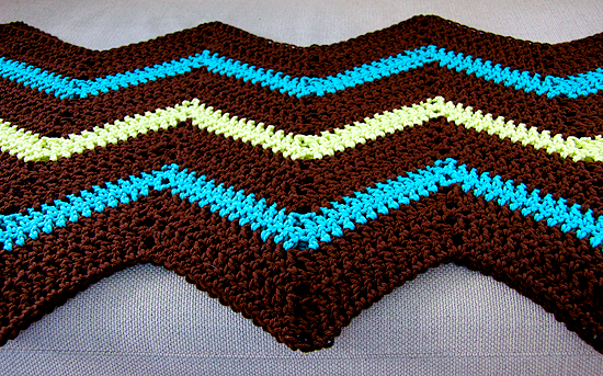 Chevron-blanket